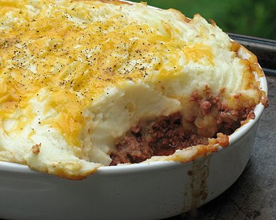 Hamburger Pie with Mashed Potatoes