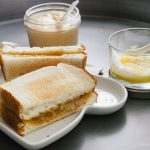 Kaya toast coconut jam on toast